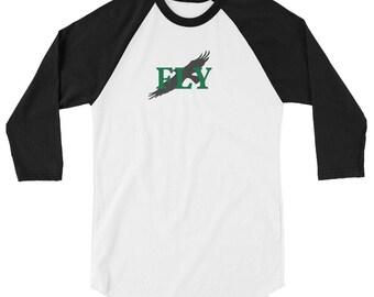 3/4 Sleeve FLY Raglan Shirt
