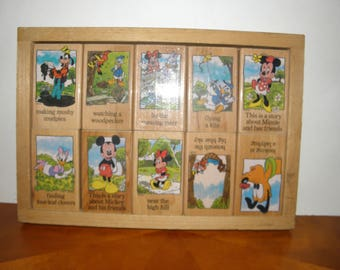 Mickey Mouse and Friends Story Blocks