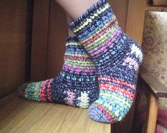 home socks,home shoes, home shoes,socks wool socks thick yarn Slippers home shoes Christmas gift