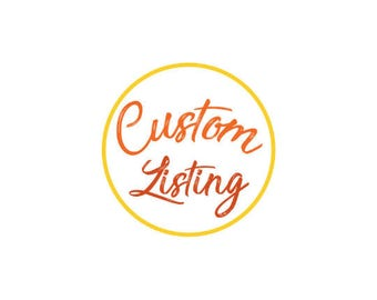 Custom Listing-Train Invite