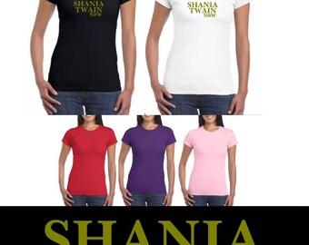 Shania Twain t shirt Now