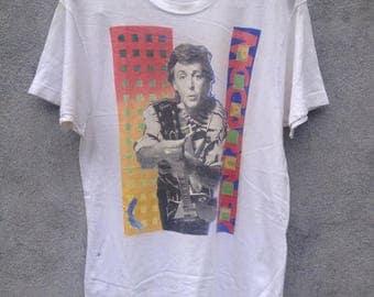 ON SALE 20% vintage Paul Mccartney t-shirt retro XL size