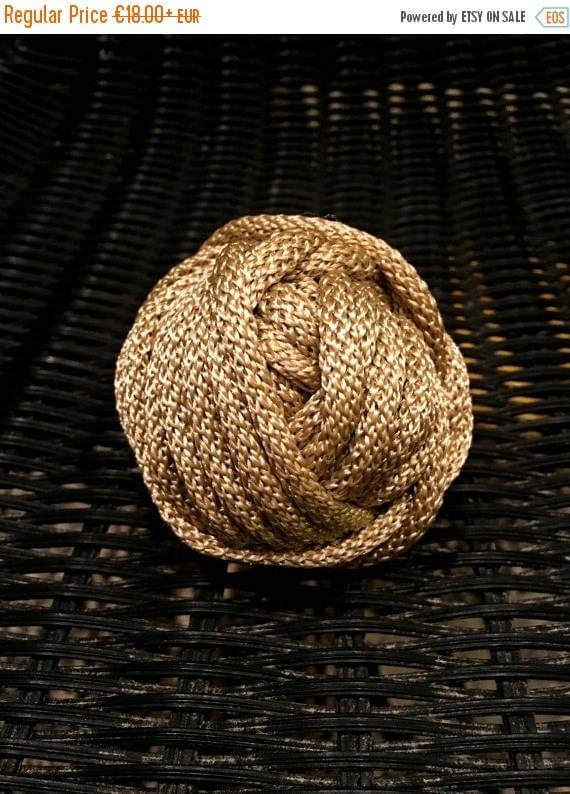 SALE 30 % Craft projects, bronze crochet yarn, crochet rope, crochet cord, polyester rope, shining cord, shining yarn, macrame yarn, rope co