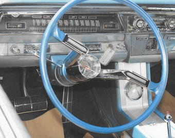 1962 Olds - Oldsmobile Starfire Dashboard