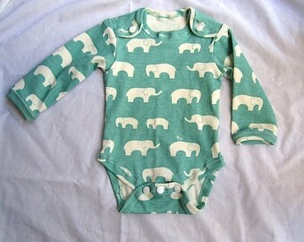 Organic Cotton Baby Bodysuit for NB to 3 Months