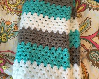 Modern granny stitch