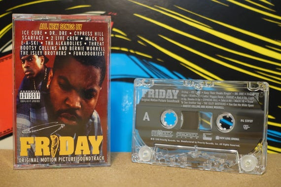 Friday - Original Motion Picture Soundtrack by Various Artists Vintage Cassette Tape