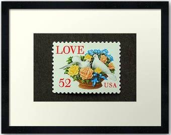 Scott 2815 Valentines  Flower Basket