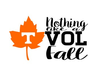 Tennessee Vols Svg-Tennessee Svg-Vols Svg-Fall Svg-Volunteer Svg-Vol-Volunteers-Instant Download-Cut File-Svg Png Pdf Eps Jpeg-Digital