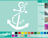 ANCHOR #2 cut vinyl decal Car Truck Window Sticker for Almost Anything!