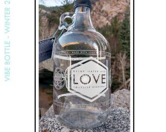 Love 64 oz Half gallon water bottle
