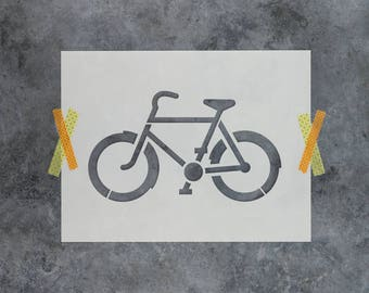 Bike Stencil - Reusable DIY Craft Stencils of a Bicycle