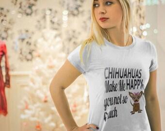 Chihuahua Shirt - Chihuahua Tshirt - Chihuahua Gift - Dog Lovers Gift - Womens Shirt - Unisex Shirt - Tshirt Mockup - Chihuahua Lover Tshirt