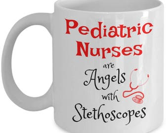 Pediatric Nurse Mug | Pediatric Nurse Gift | Sentimental Gifts for Her Him Daughter Wife | Graduation Nursing | Birthday 11 oz Coffee Cup