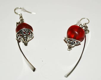 Red Hook hypoallergenic earrings