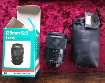 Hanimex Automatic 135mm f/2.8 Lens / never been used