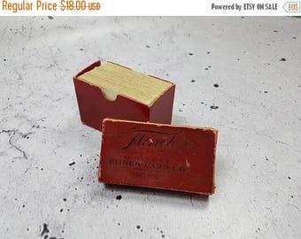 SALE Antique 1950s Flinch Card Game / Vintage Collectible Flinch Card Game / 50s Card Deck Game Mid Century Modern Pop Culture
