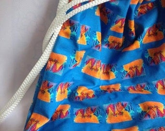 Cotton BACKPACK, cats, gattorosso