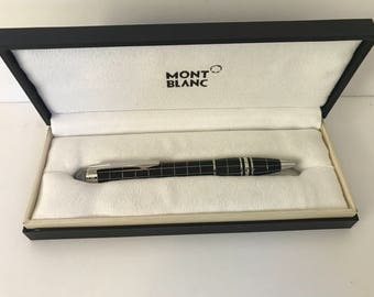 Mont Blanc Metal and Rubber Ballpoint Pen