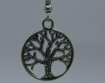 Silver Earrings Tree