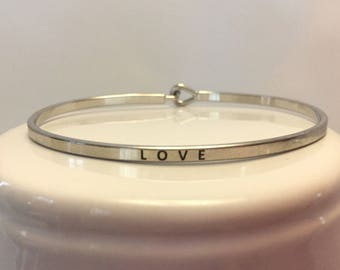 LOVE Mantra Bracelet/Bangle - Inspiration