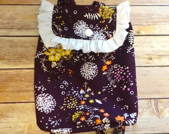 Toddler Backpack in Purple Wildflower
