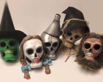 Wizard of Oz skull set