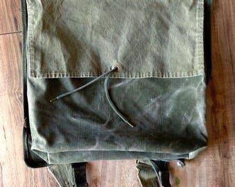 Vintage Military Backpack