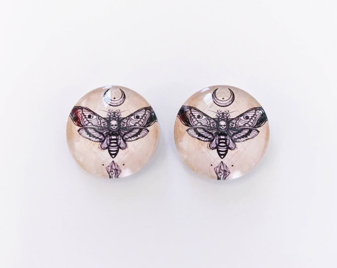 The 'Samara' Glass Earring Studs