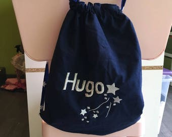 Personalized kids resserable bag