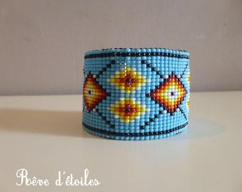 Bracelet weaving seed beads