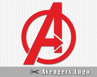 Avengers Superhero SVG DXF PNG Logo Vector Cut File Silhouette Studio Edition Cricut Design Template Stencil Vinyl Decal Heat Transfer Iron