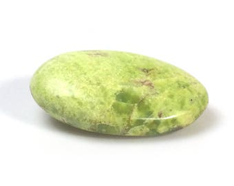 Pebble with Green Opal, Madagascar, 122 grams
