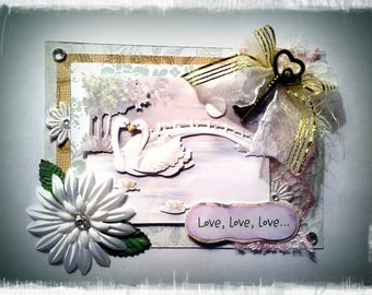 """Card """"Love, love, love. Affectivity"""""""