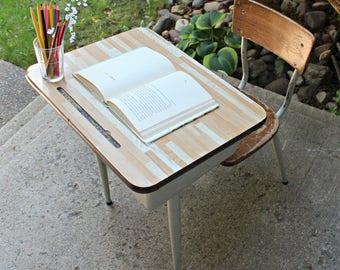 Vintage School Desk w/patina