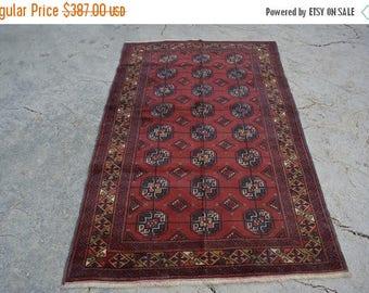 Big sale 6 x 3'9 FT Vintage Tribal Baluch rug Pattern Maouri Gull rug, Persian rug, Moroccan rug, wool rug, wall hang rug