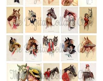 Vintage Kentucky Derby Digital Collage Sheet - TT - 033 - Instant  Download