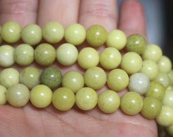 "15 "" Full strand,Natural Cheese Jasper Smooth and Round Beads 8mm ,loose beads,wholesale beads,"