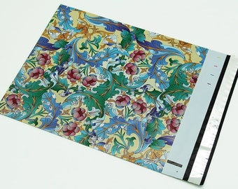 10 -  6x9 Paisley Designer Poly Mailers Envelopes  Bags