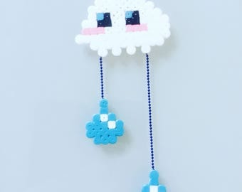 Cloud necklace - Rain