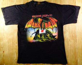 Vintage 1995 BON JOVI Japan Tour Anytime Anywhere Shirt