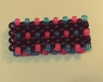 Glow in the Dark Blue and Pink Cuff