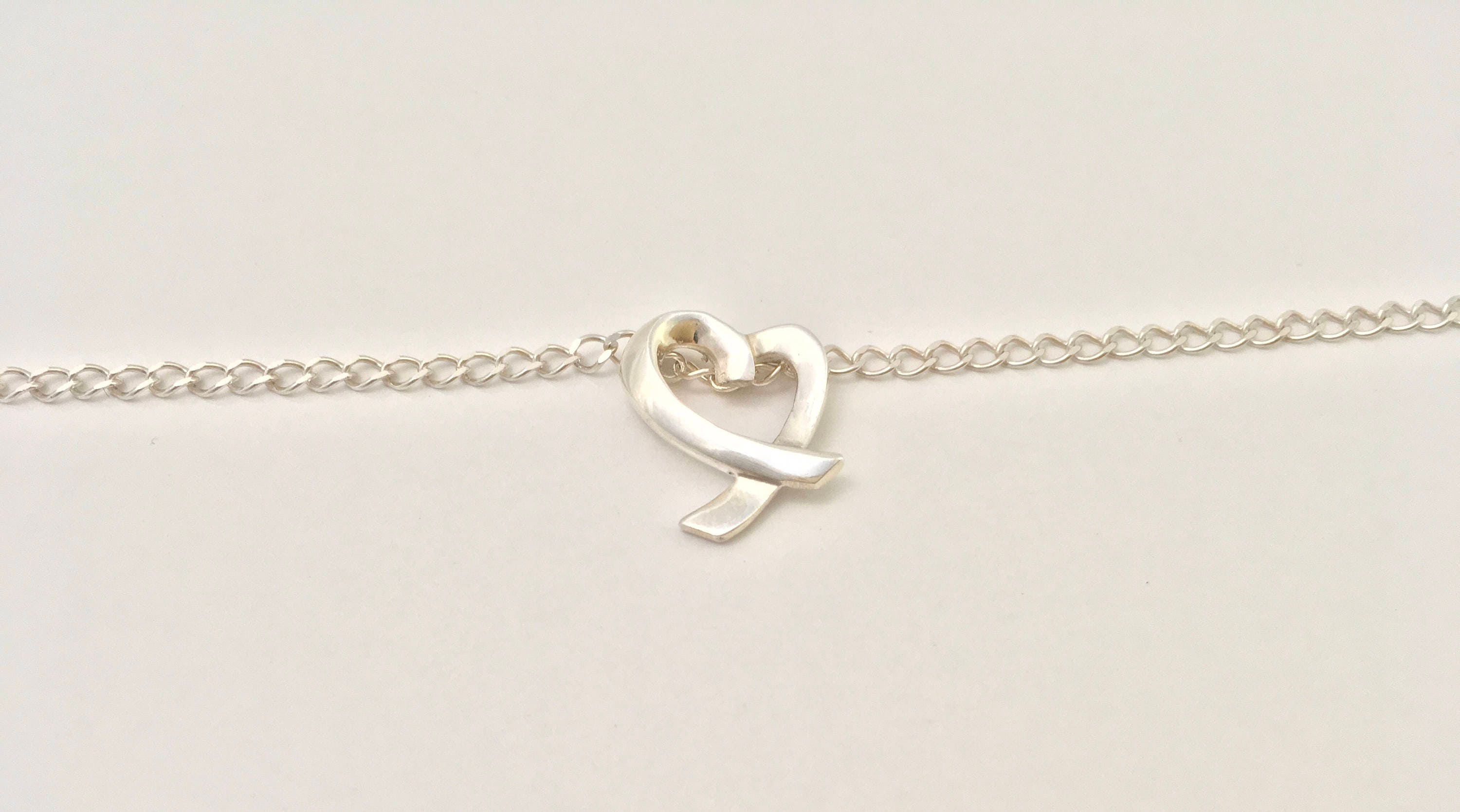 link watches key overstock charm lock jewelry and bracelet free product inch gold white heart anklet today yellow shipping