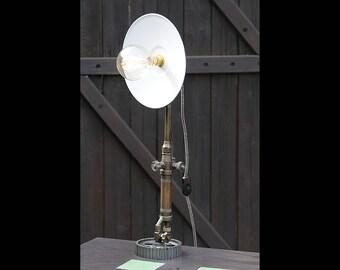 Soldering iron lamp