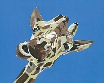 Giraffe (A3 print)
