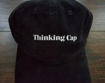 Thinking Cap Dad Hat