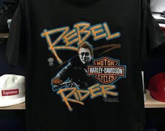 87' James Dean Harley Davidson shirt