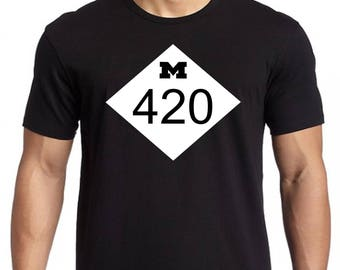 M 420 Silk Screened T-Shirt