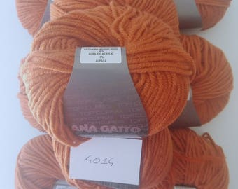 Merino Wool YARN 4014-Tender-Cat + Alpaca