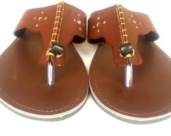 Men leather sandals, maasai men sandals,African men sandals,Handmade sandals,Father's gift
